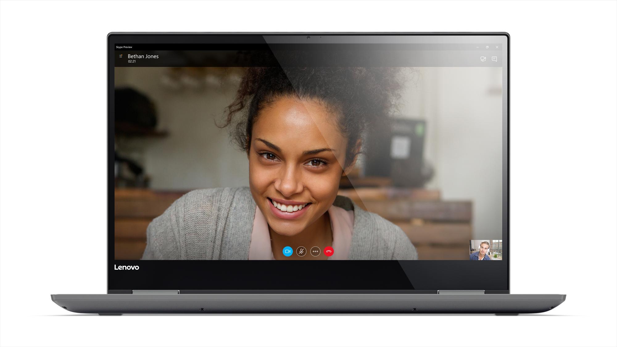 Фото  Ультрабук Lenovo Yoga 720-13IKBR Iron Grey (81C3009QRU)