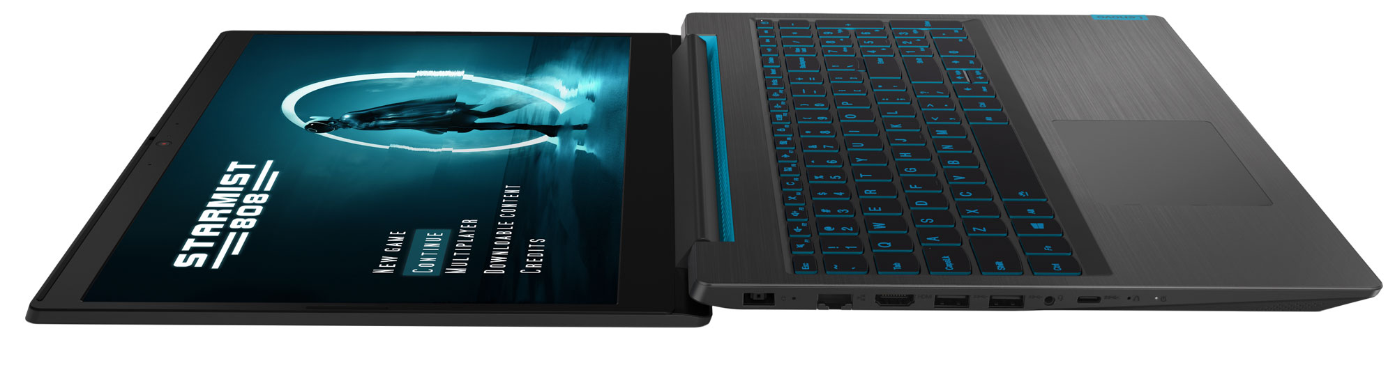 Фото  Ноутбук Lenovo ideapad L340-15IRH Gaming Black (81LK00TWRE)