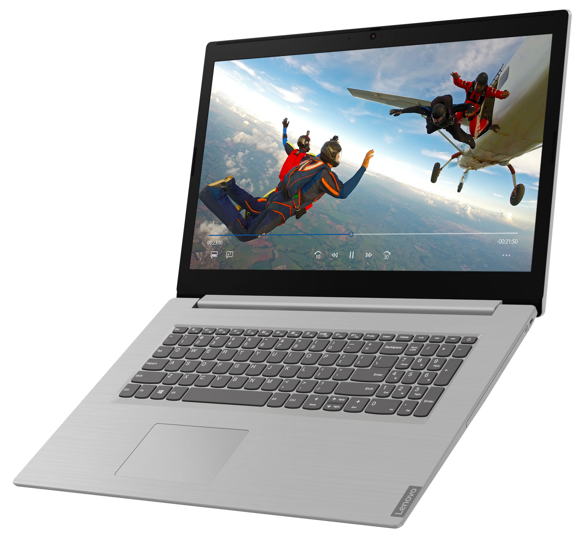 Фото  Ноутбук Lenovo ideapad L340-17API Platinum Grey (81LY003QRE)