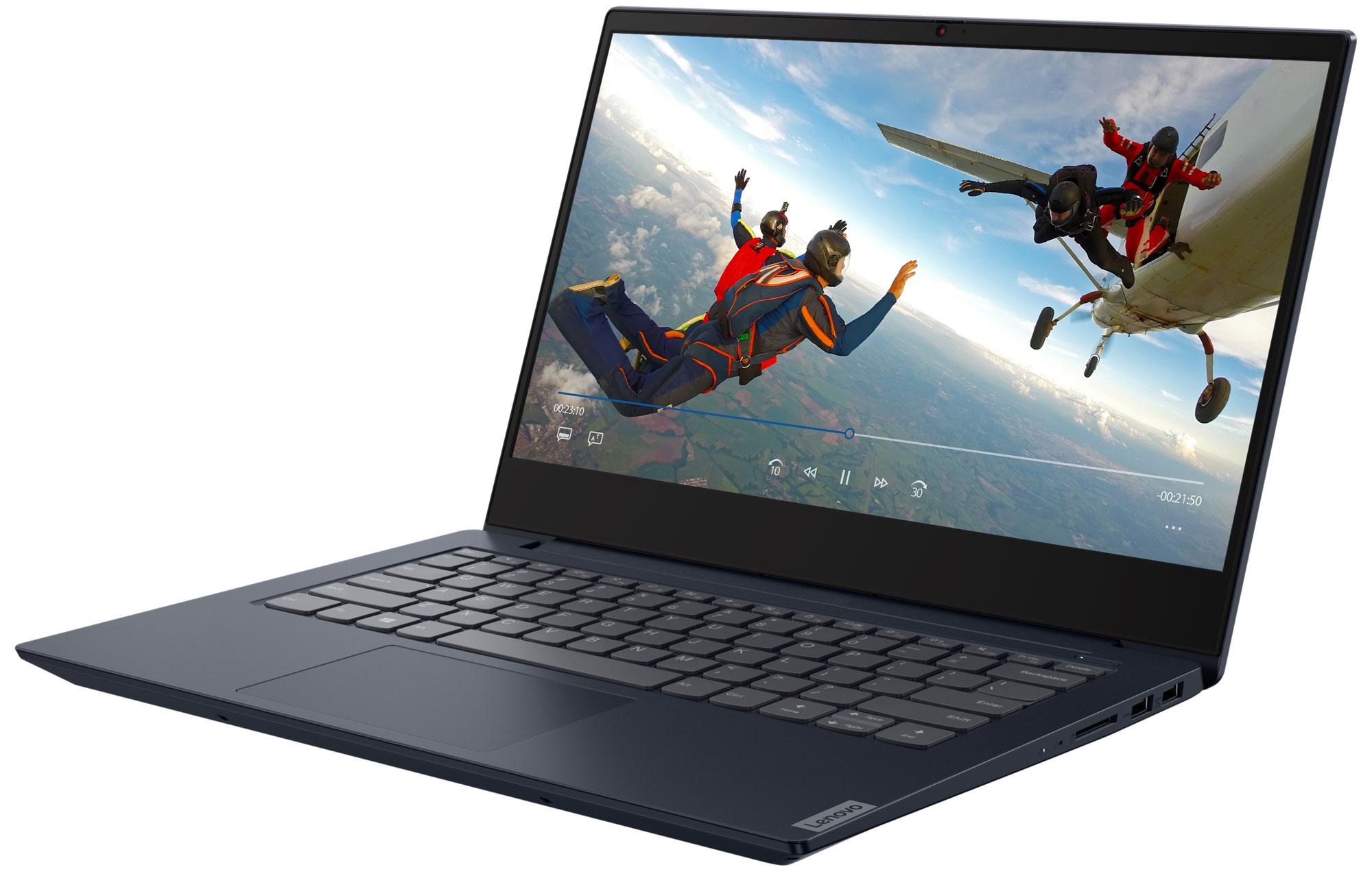 Фото  Ноутбук Lenovo ideapad S340-14API Abyss Blue (81NB0095RK)