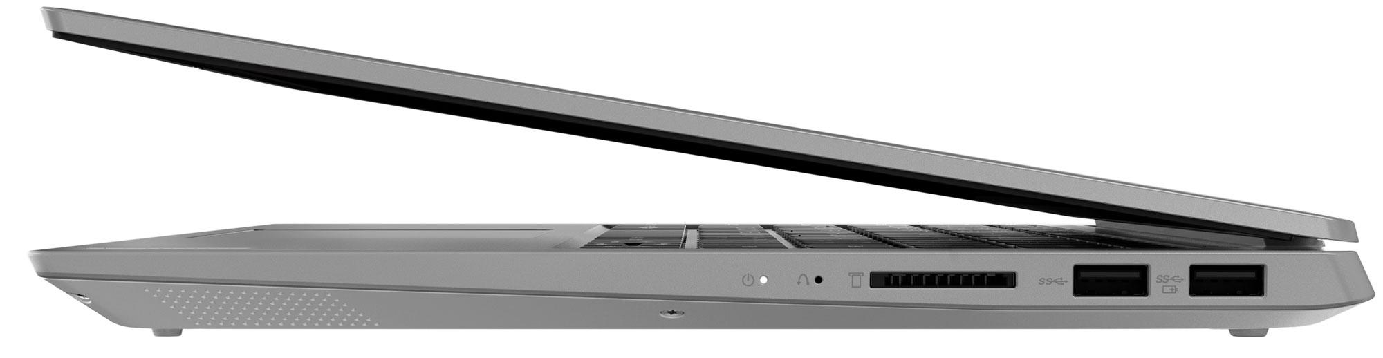 Фото  Ноутбук Lenovo ideapad S340-14IWL Platinum Grey (81N700RERE)