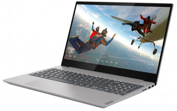 Фото 0 Ноутбук Lenovo ideapad S340-15IWL Platinum Grey (81N800S9RE)