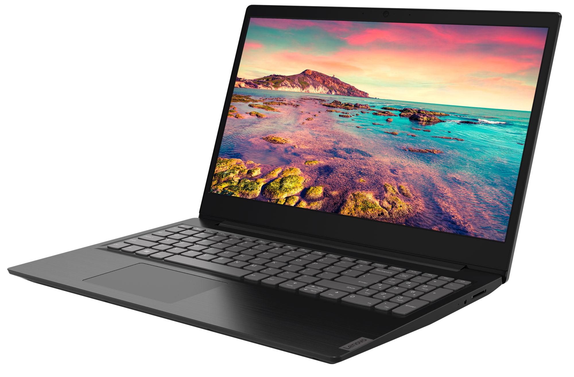 Фото  Ноутбук Lenovo ideapad S145-15IWL Black (81MV01BFRE)