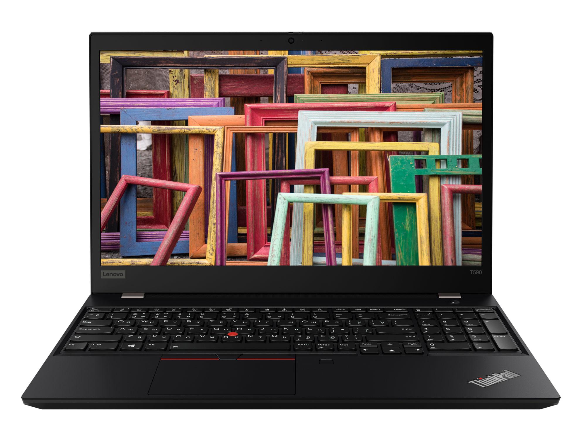 Фото  Ноутбук ThinkPad T590 (20N4000ERT)