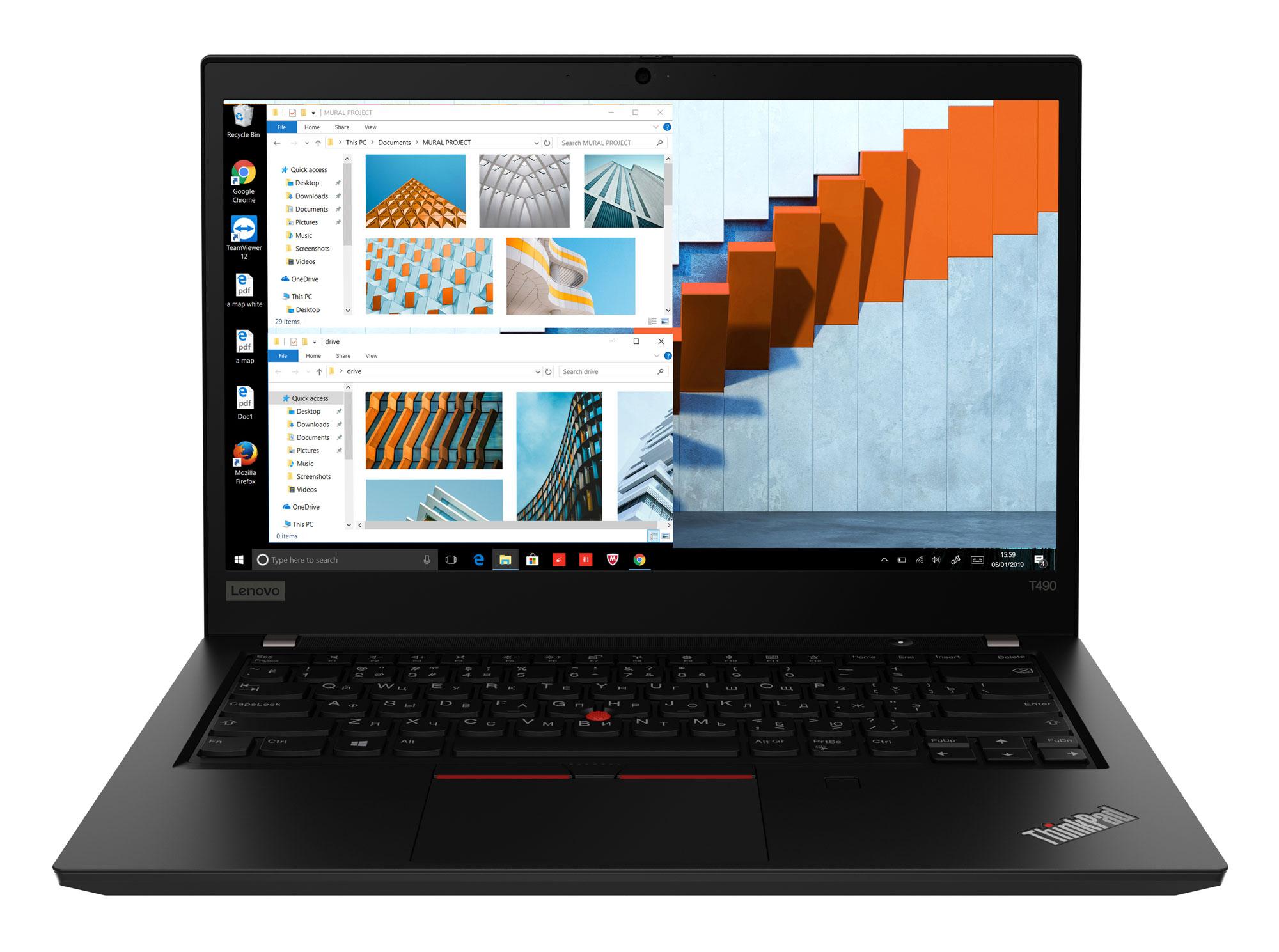 Фото  Ноутбук ThinkPad T490 (20N2000LRT)
