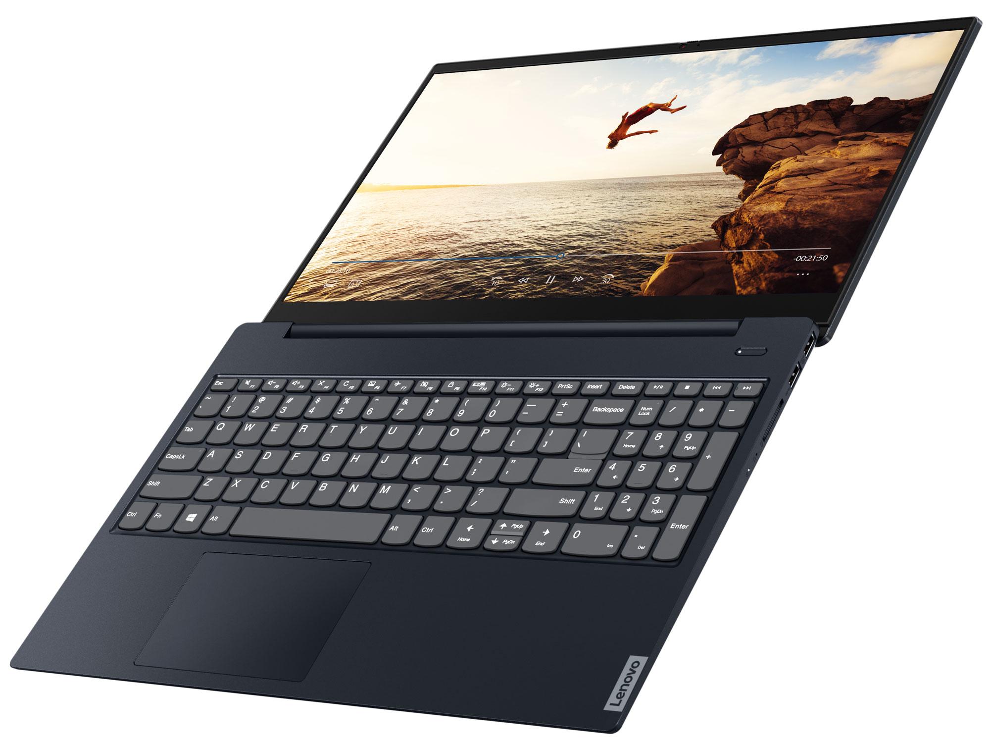 Фото  Ноутбук Lenovo ideapad S340-14API Abyss Blue (81NB00BDRE)