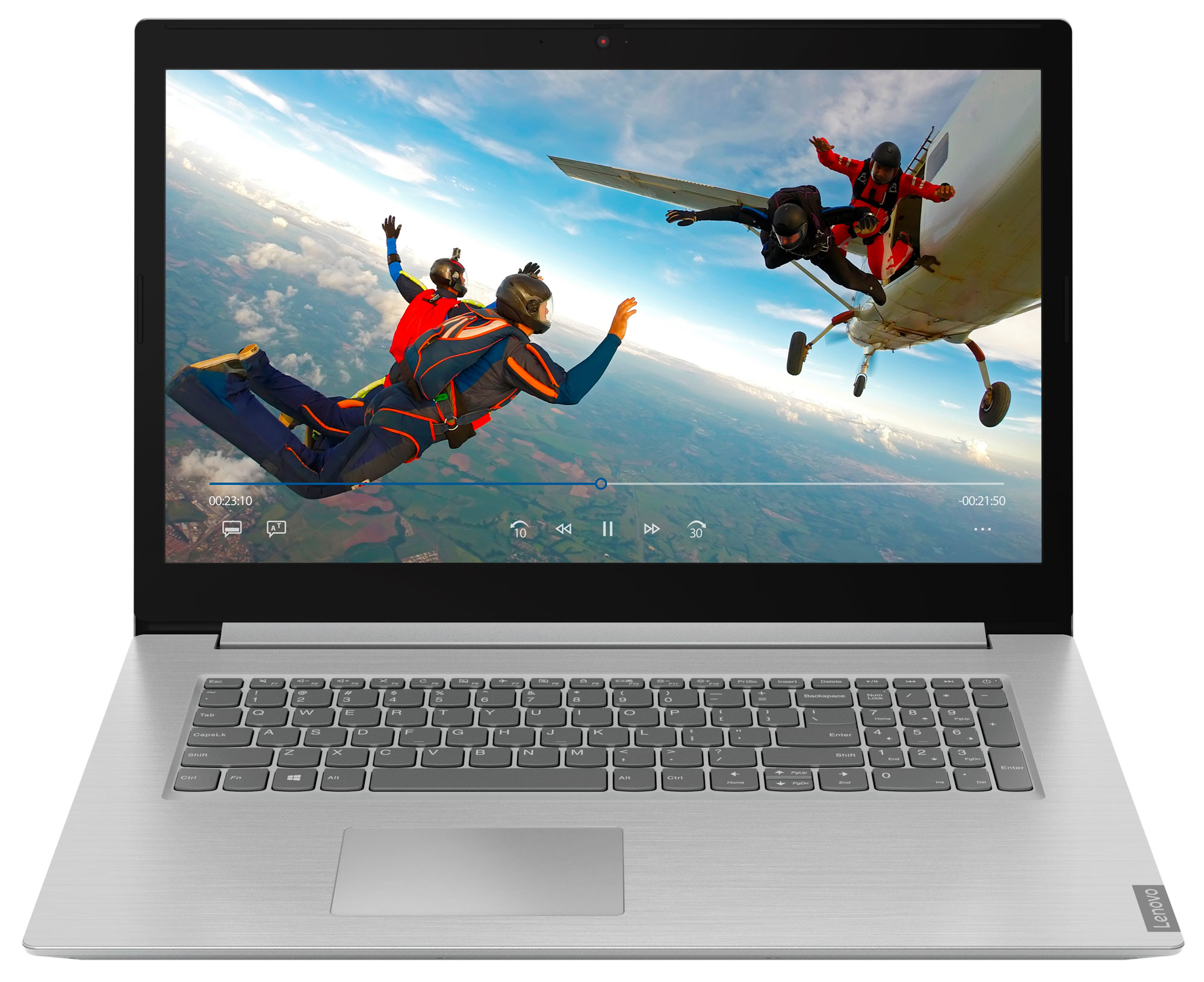 Фото  Ноутбук Lenovo ideapad L340-17API Platinum Grey (81LY004KRE)