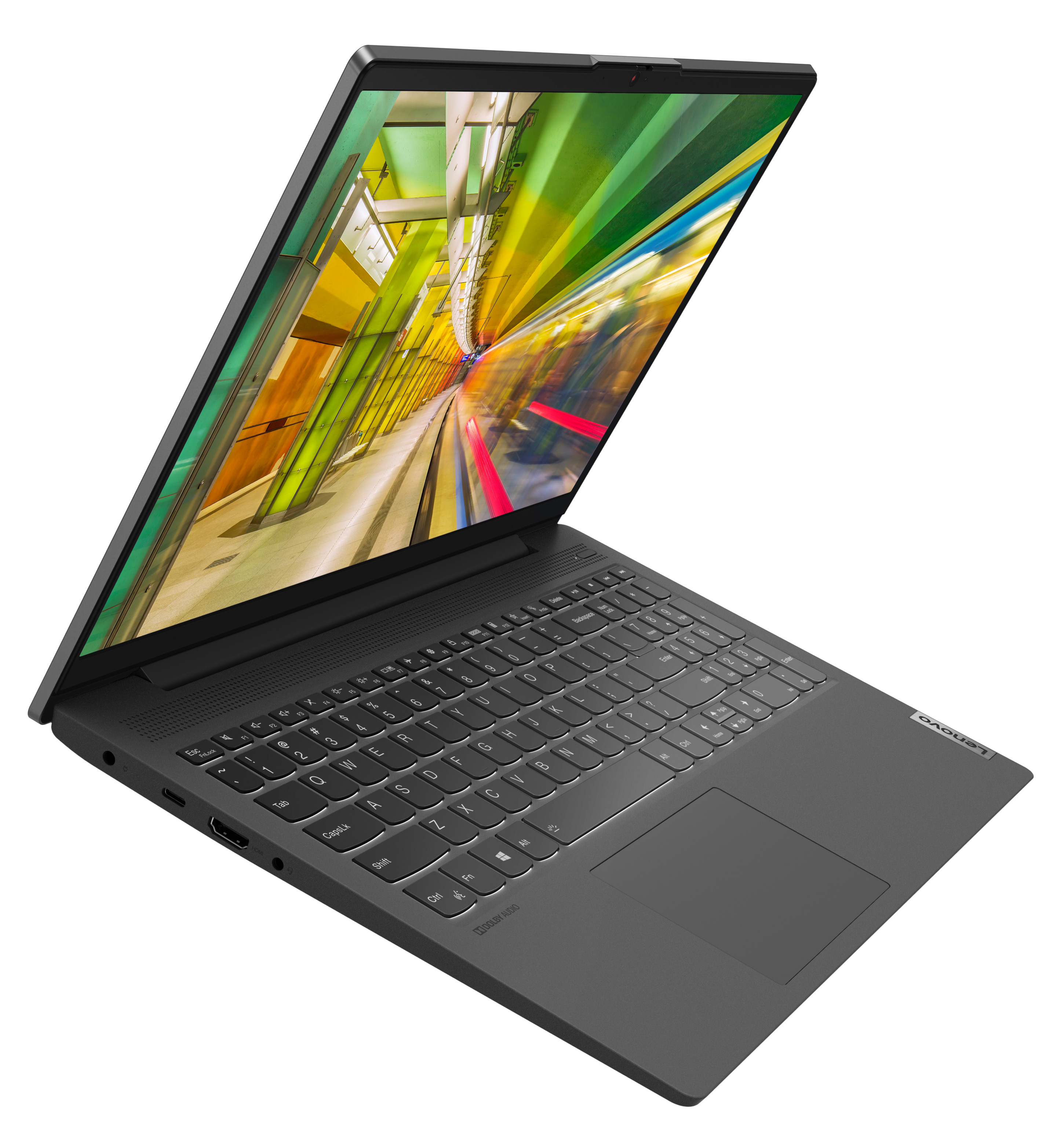 Фото  Ноутбук Lenovo ideapad 5i 15IIL05 Graphite Grey (81YK006HRE)