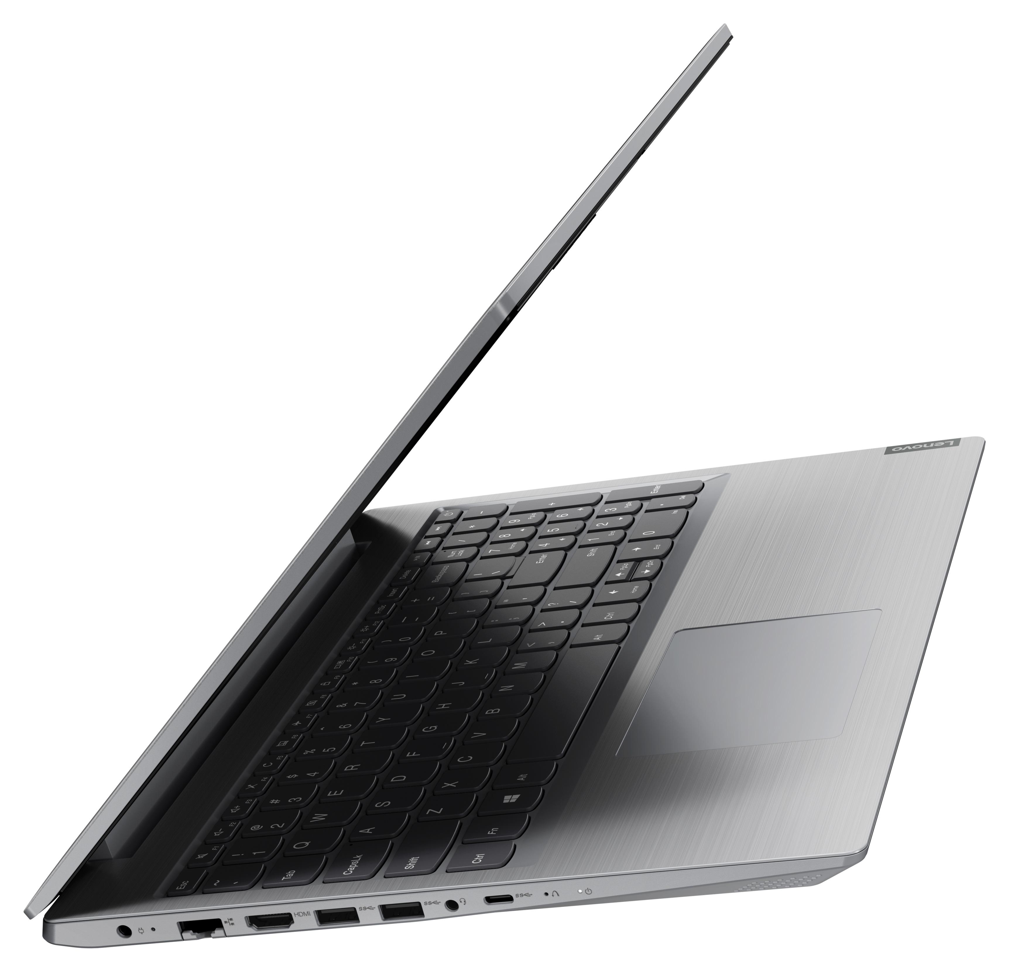 Фото  Ноутбук Lenovo ideapad L3 15IML05 Platinum Grey (81Y300CLRE)