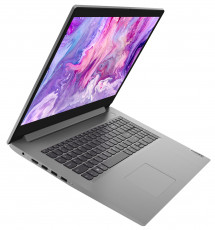 Фото 2 Ноутбук Lenovo ideapad 3 17IML05 Platinum Grey (81WC0012RE)