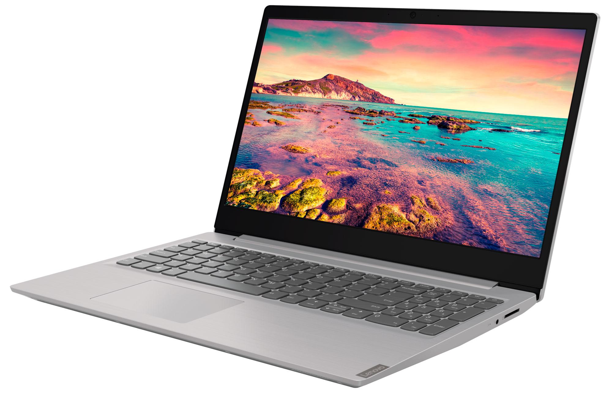Фото  Ноутбук Lenovo ideapad S145-15AST Grey (81N300E9RE)