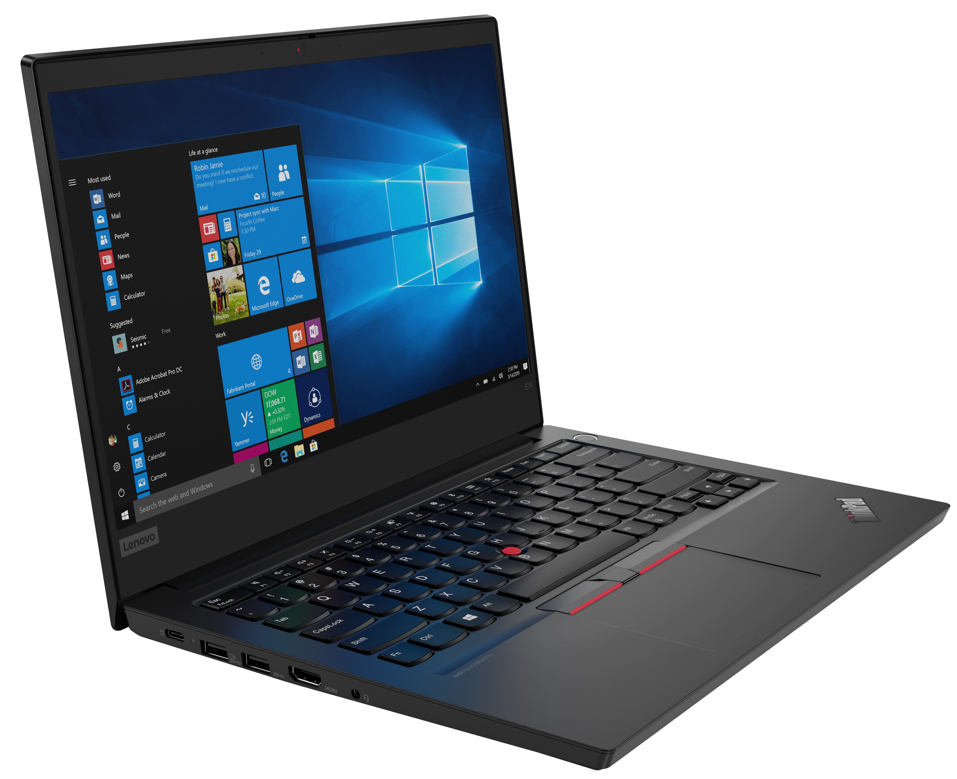 Фото  Ноутбук ThinkPad E14 (20RA002QRT)