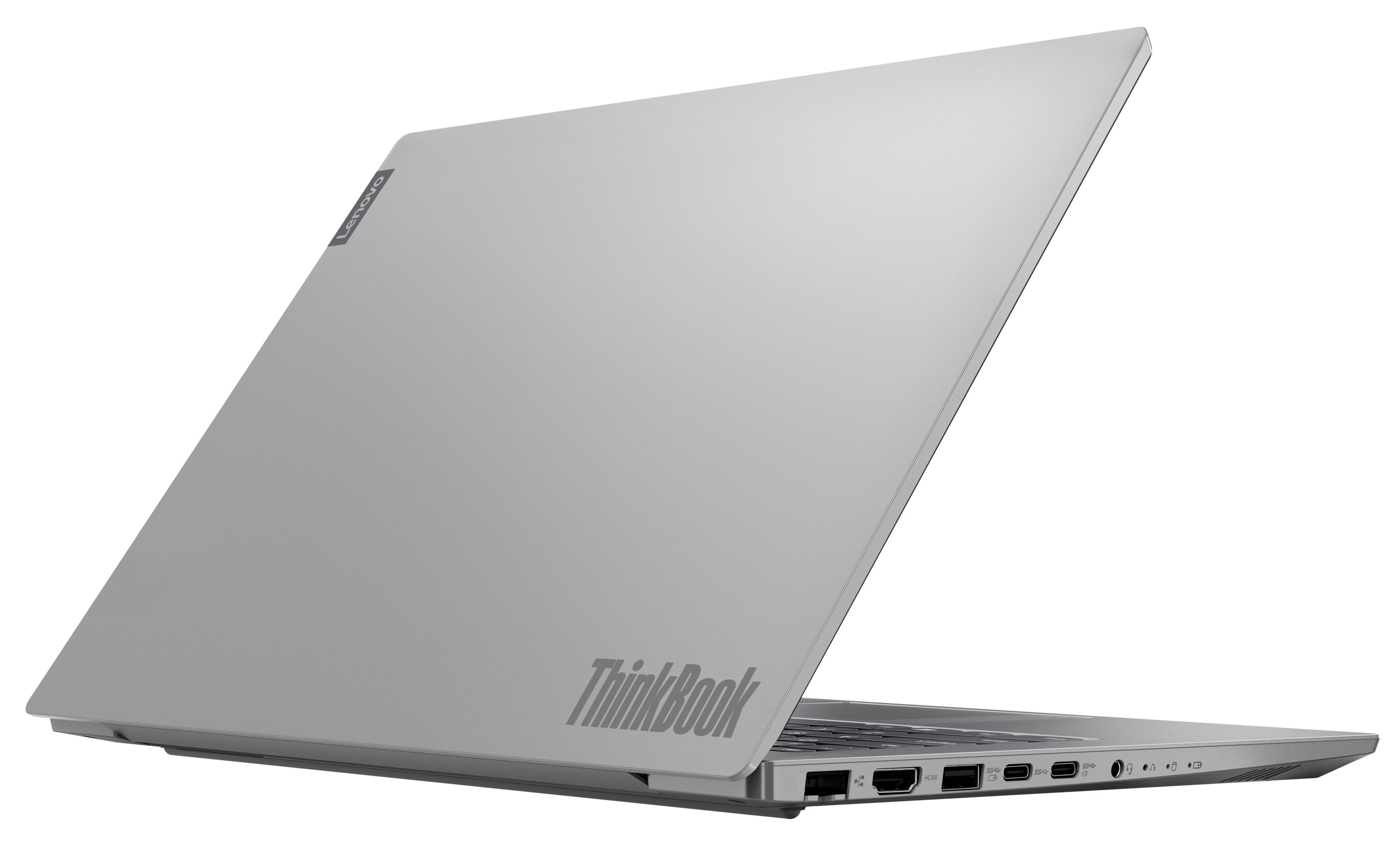 Фото  Ноутбук ThinkBook 14-IML Mineral Grey (20RV0077RK)