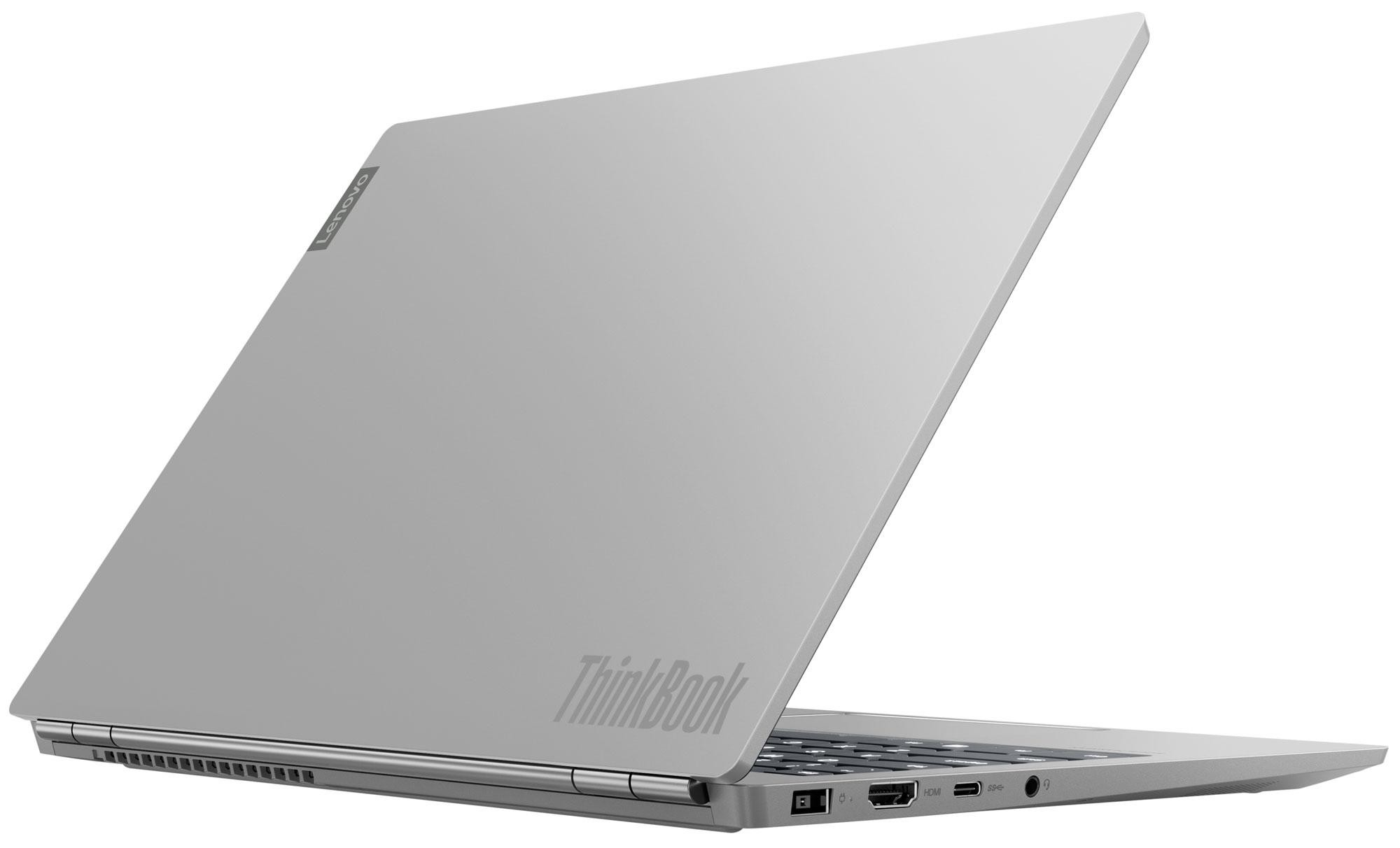 Фото  Ноутбук ThinkBook 13s-IML Mineral Grey (20RR002YRU)