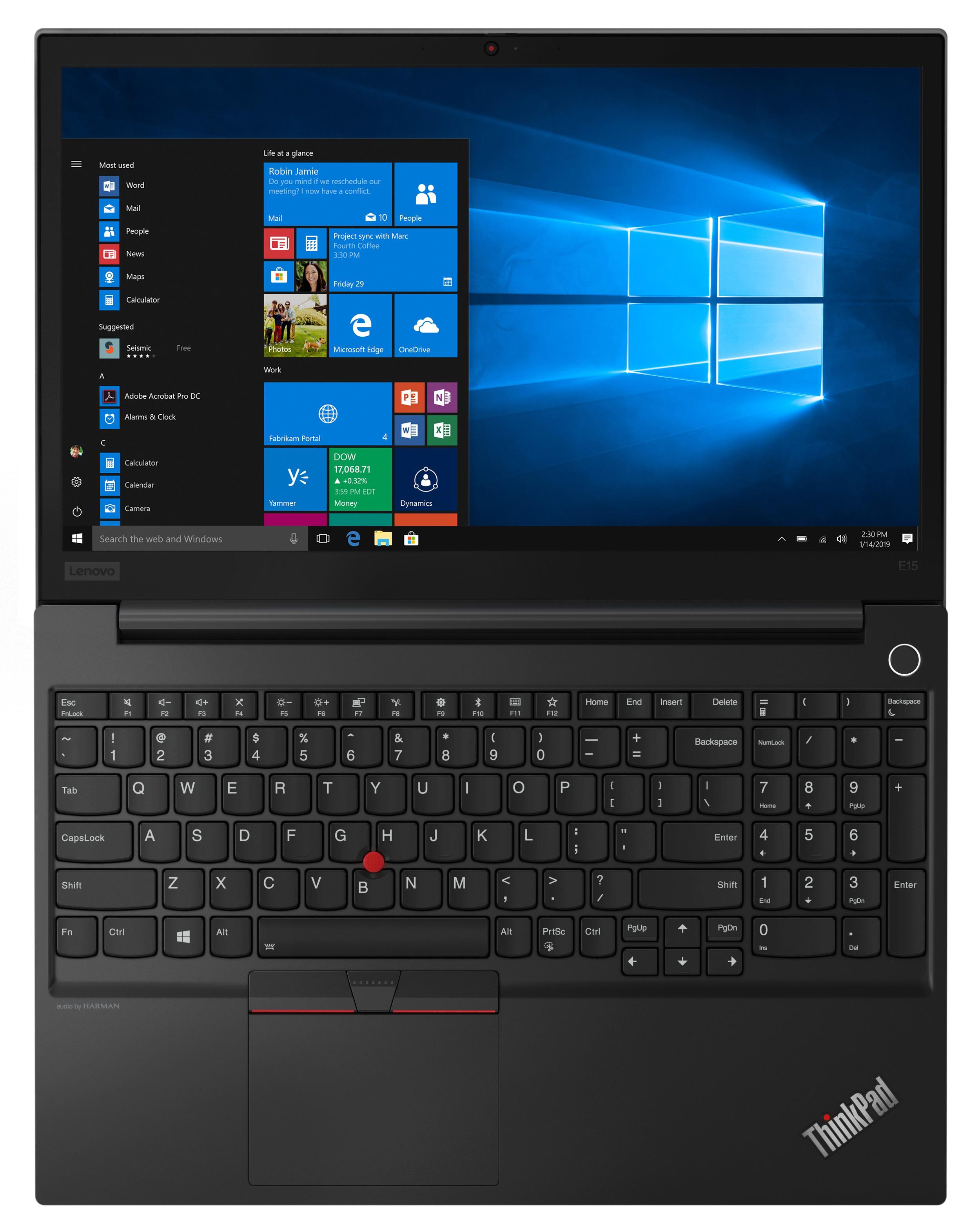 Фото  Ноутбук ThinkPad E15 (20RD002DRT)