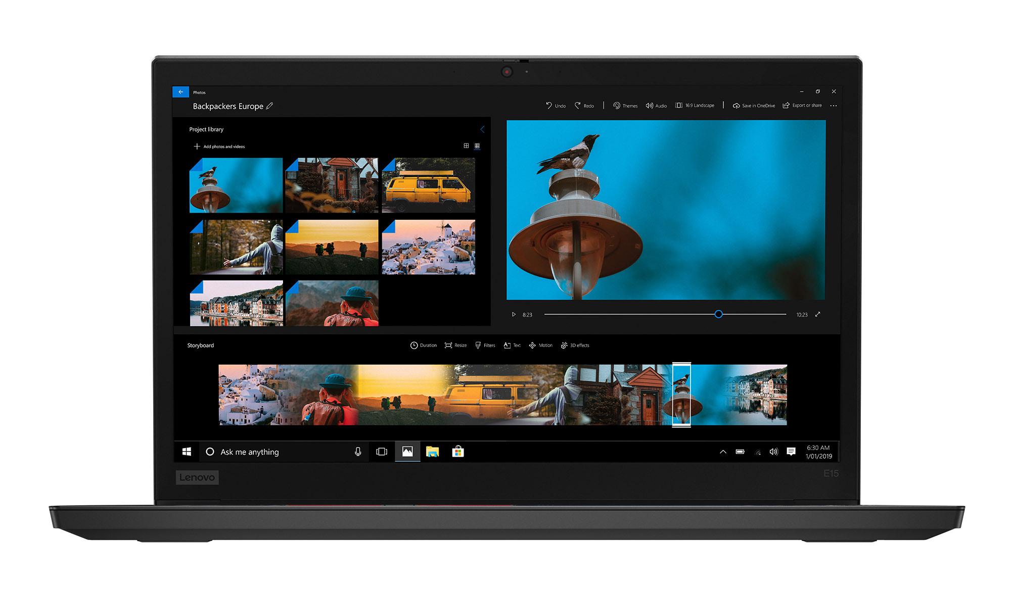 Фото  Ноутбук ThinkPad E15 (20RD005NRT)