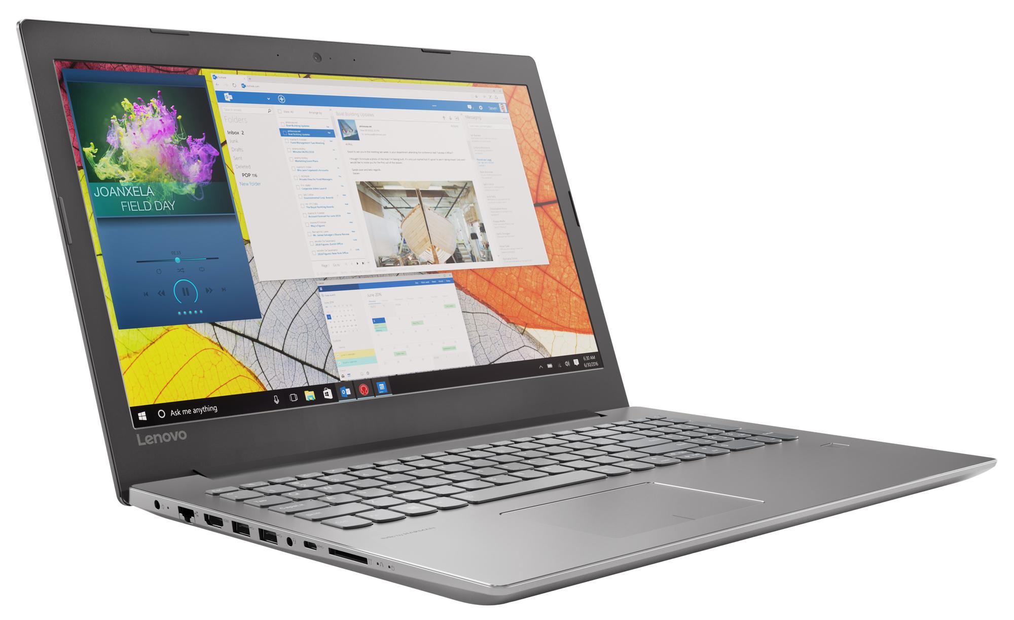 Фото  Ноутбук Lenovo ideapad 520-15IKB Iron Grey (81BF00HYRU)