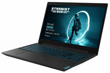 Фото 0 Ноутбук Lenovo ideapad L340-15IRH Gaming Granite Black (81LK012FRE)