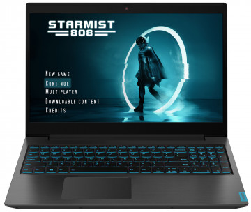 Фото 1 Ноутбук Lenovo ideapad L340-15IRH Gaming Granite Black (81LK012FRE)