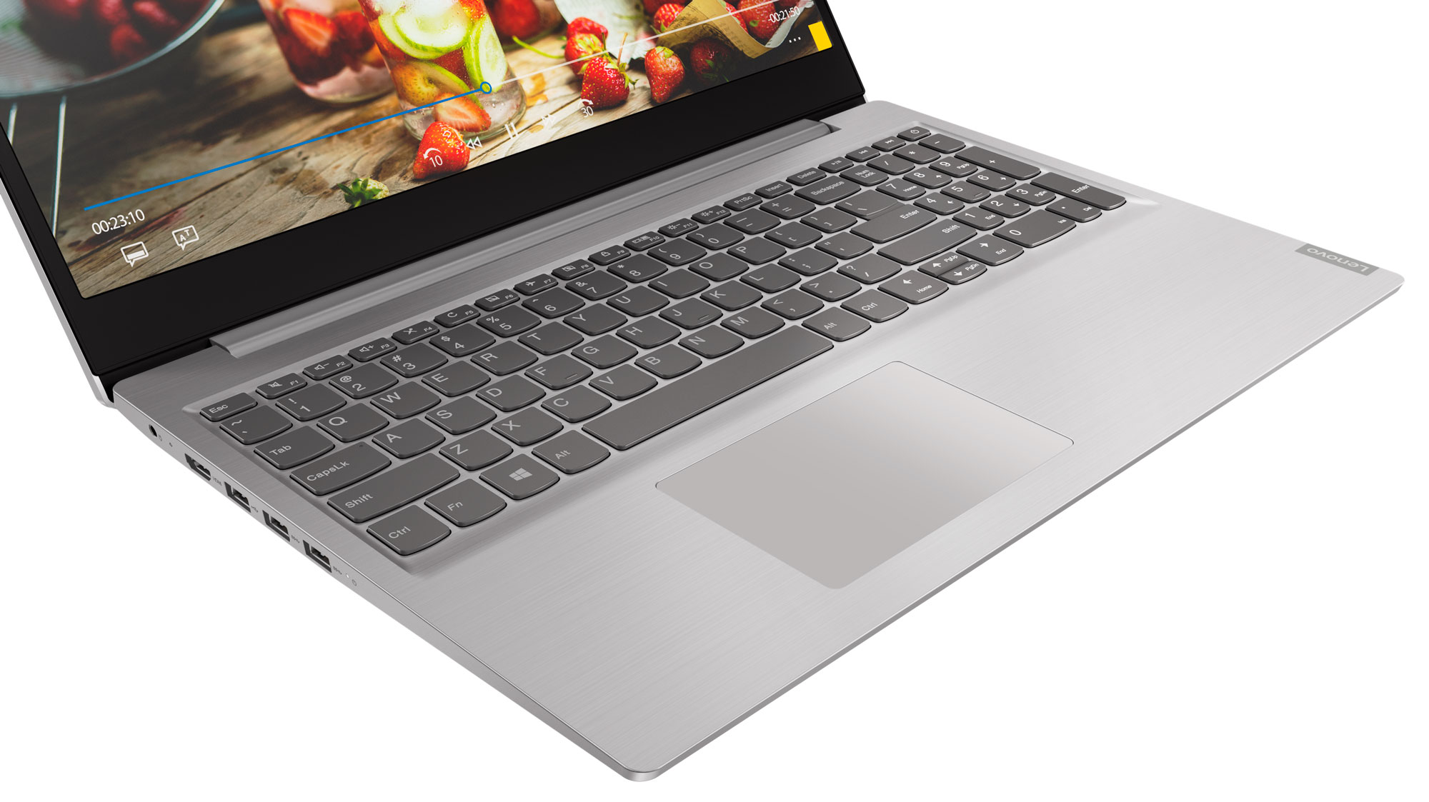 Фото  Ноутбук Lenovo ideapad S145-15IGM Platinum Grey (81MX003SRE)