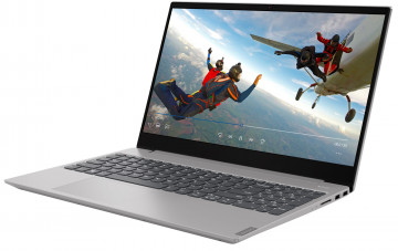 Фото 0 Ноутбук Lenovo ideapad S340-15IML Platinum Grey (81NA0092RE)