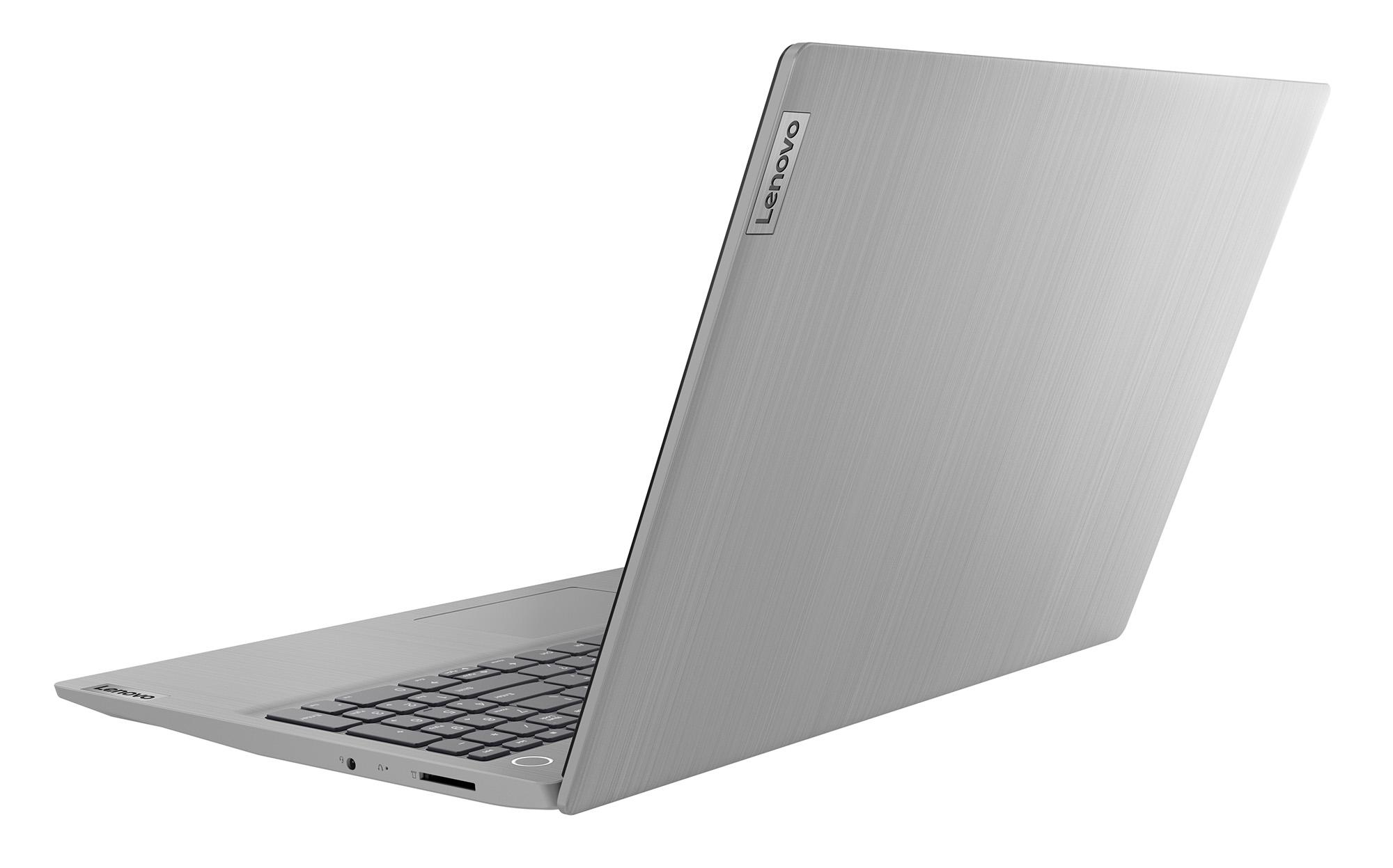 Фото  Ноутбук Lenovo ideapad 3 15IML05 Platinum Grey (81WB008LRE)