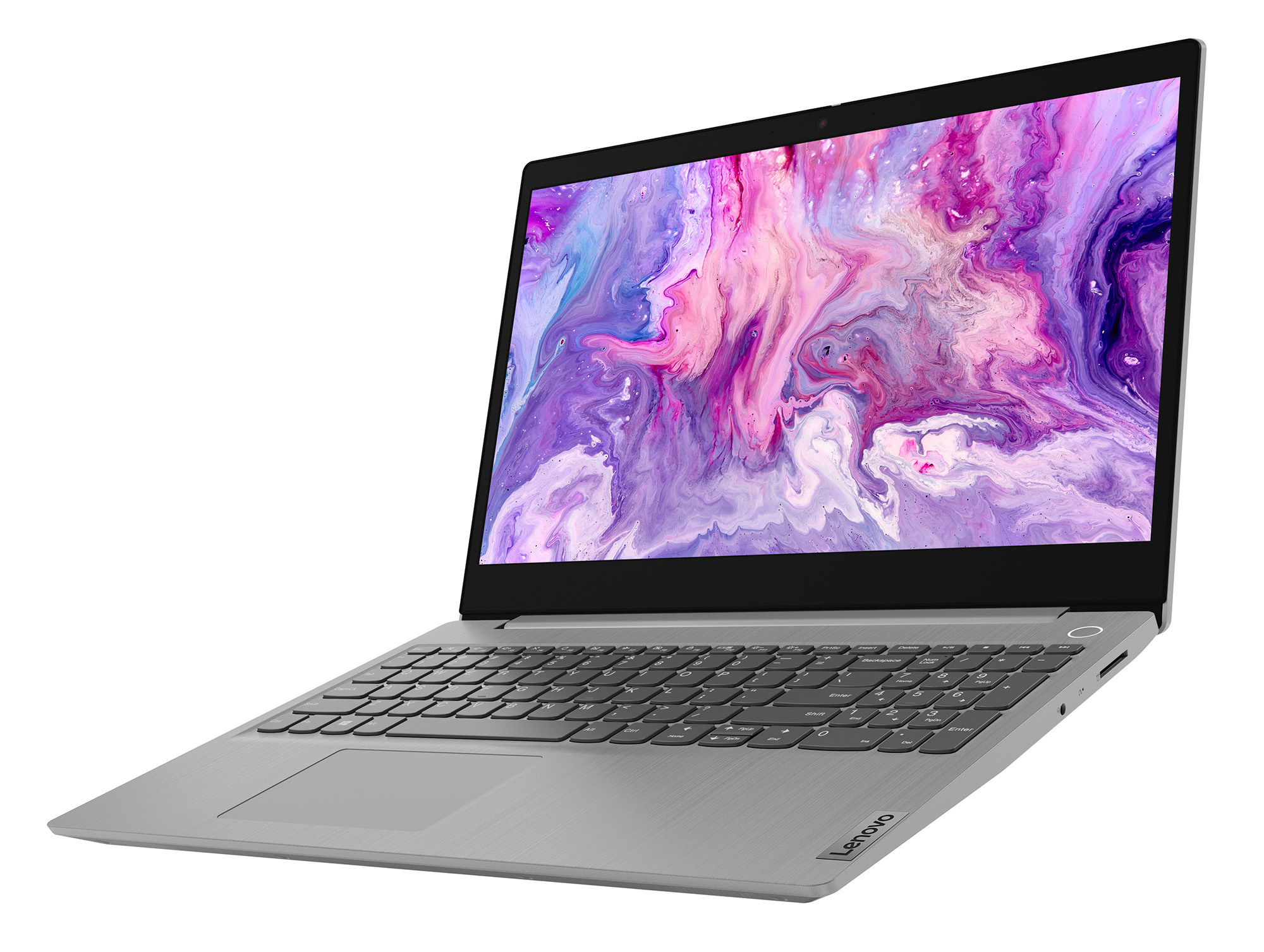 Фото  Ноутбук Lenovo ideapad 3 15IIL05 Platinum Grey (81WE0054RE)