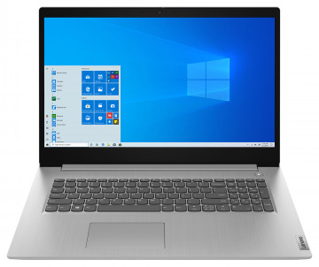 Ноутбук Lenovo ideapad 3 17IML05 Platinum Grey (81WC004LRK)