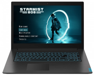 Фото 1 Ноутбук Lenovo ideapad L340-17IRH Gaming Granite Black (81LL003SRK)
