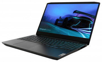 Фото 1 Ноутбук Lenovo ideapad Gaming 3 15IMH05 Onyx Black (81Y400CHRE)