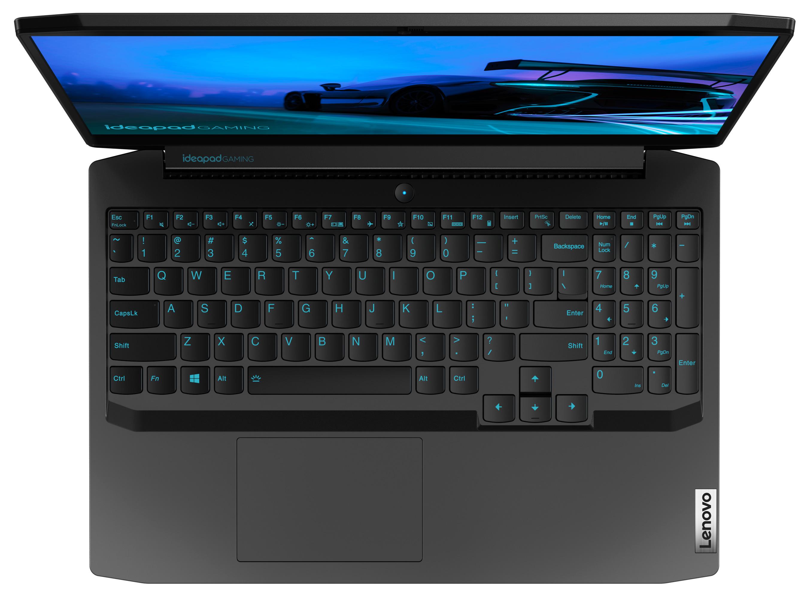 Фото  Ноутбук Lenovo ideapad Gaming 3 15IMH05 Onyx Black (81Y400CHRE)