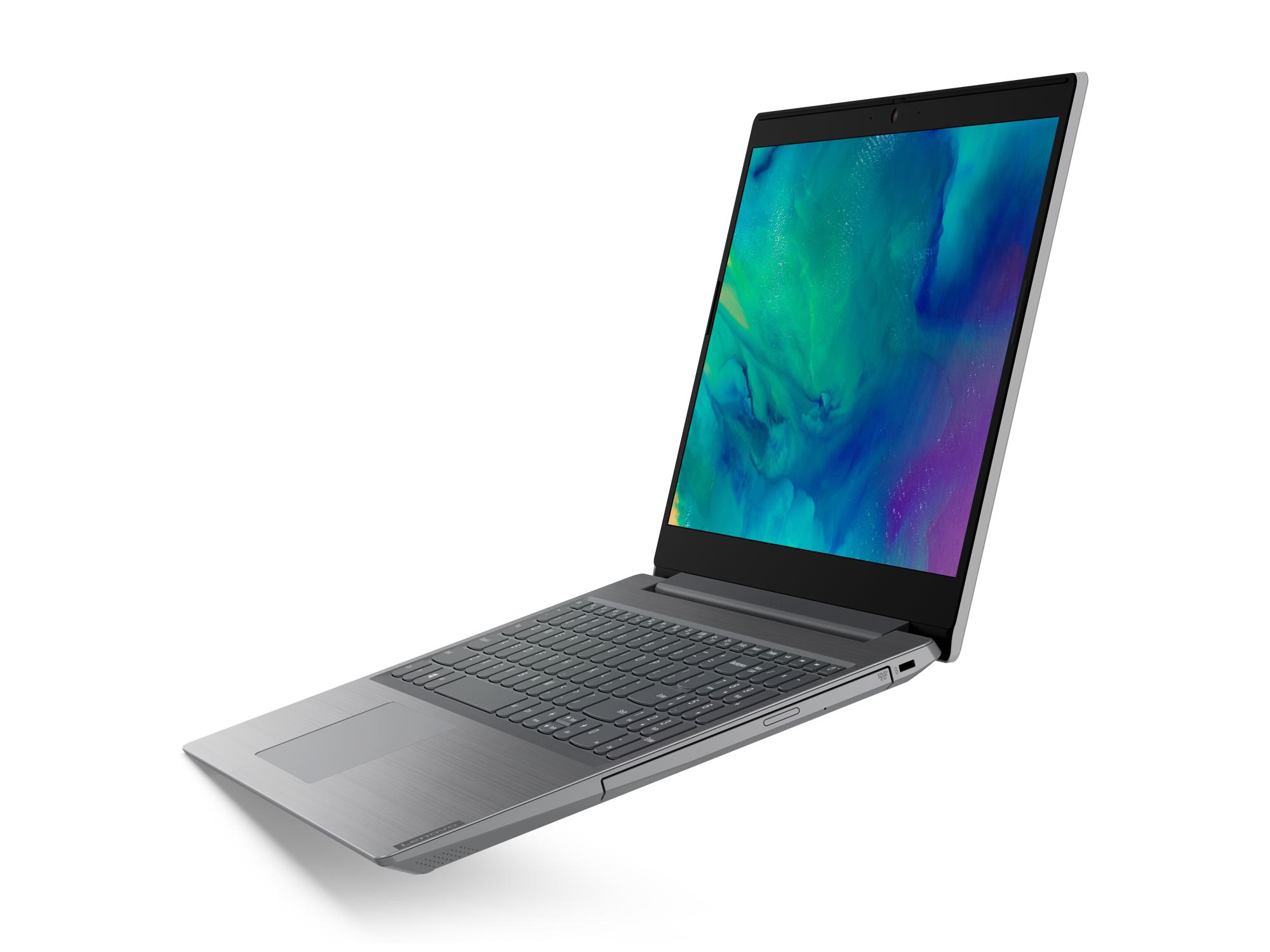 Фото  Ноутбук Lenovo ideapad L3 15IML05 Platinum Grey (81Y300D9RE)