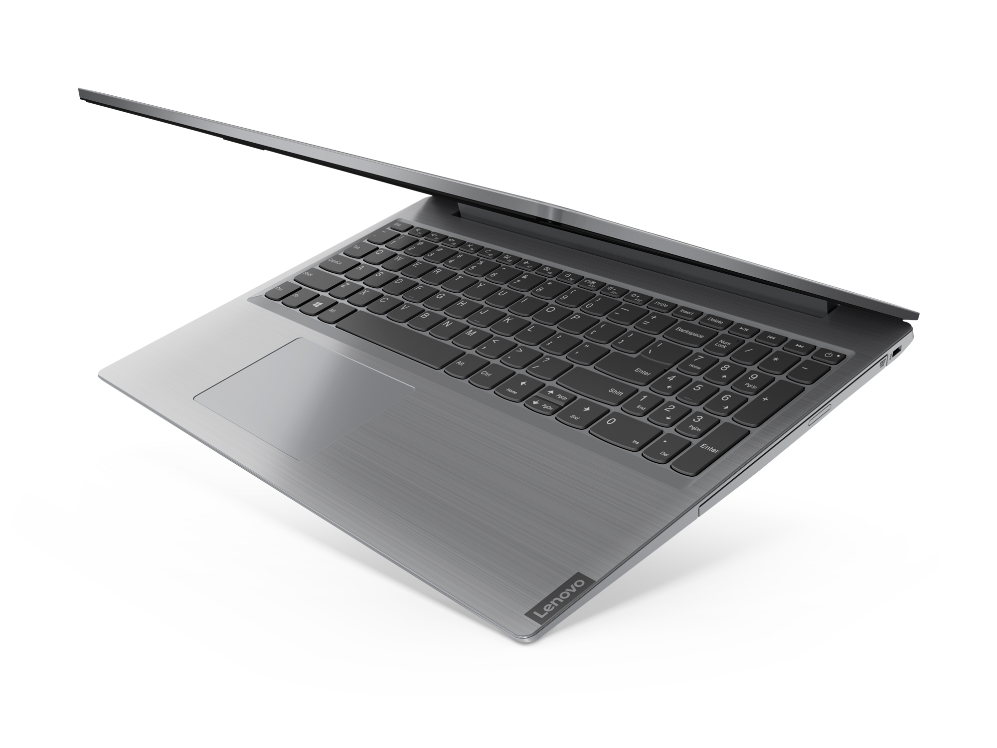 Фото  Ноутбук Lenovo ideapad L3 15IML05 Platinum Grey (81Y300J6RE)