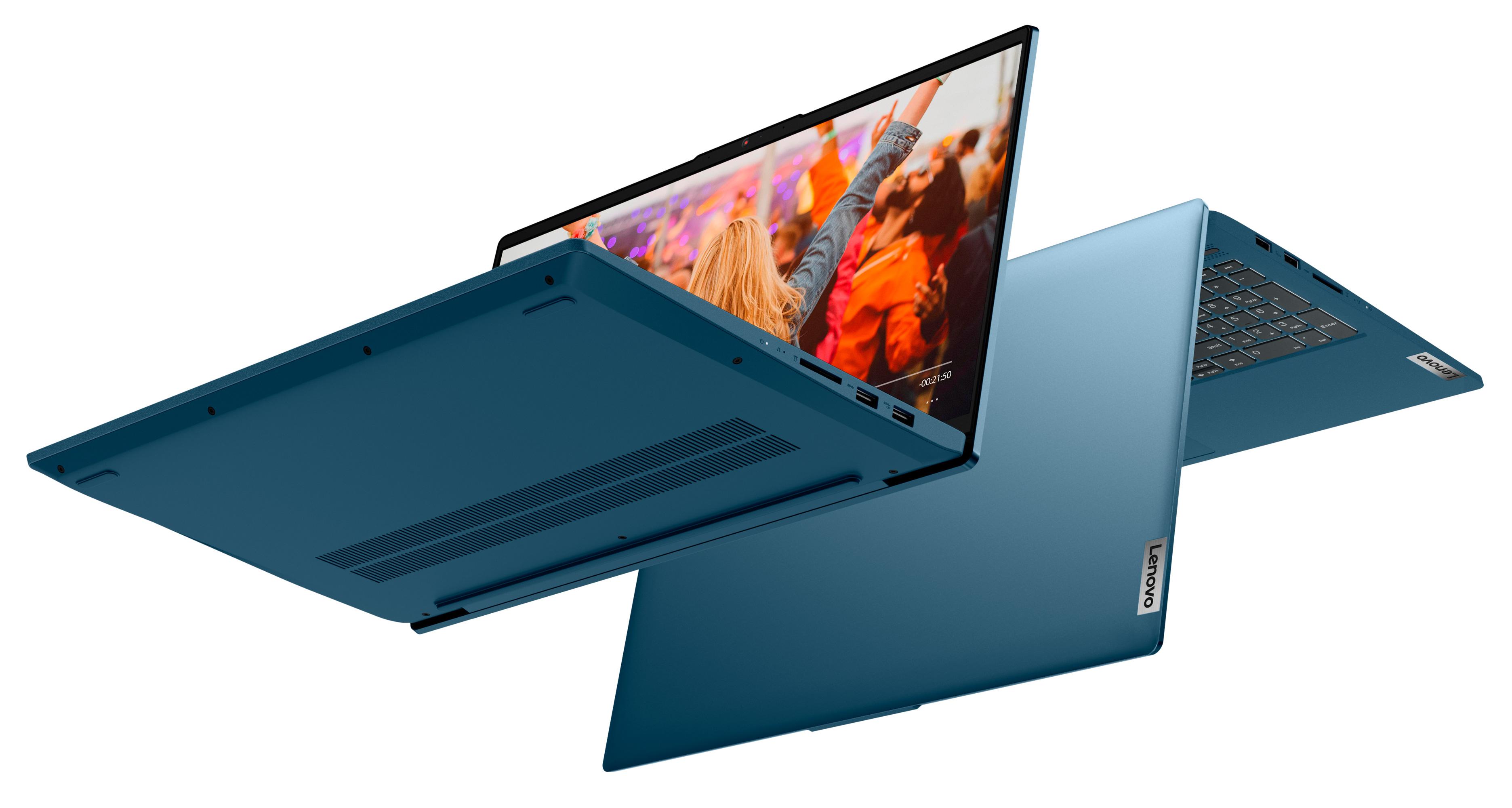 Фото  Ноутбук Lenovo ideapad 5i 15IIL05 Light Teal (81YK00G9RE)