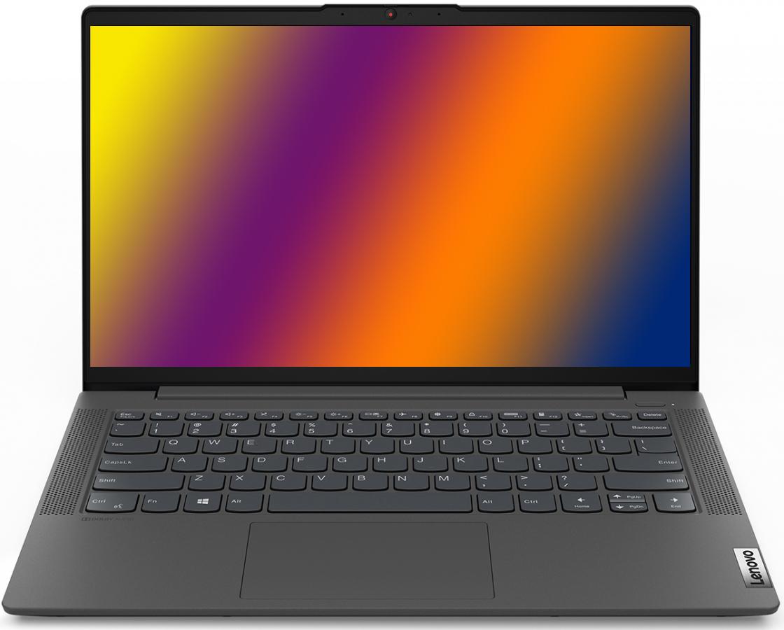 Фото  Ноутбук Lenovo ideapad 5i 14IIL05 Graphite Grey (81YH009MRK)