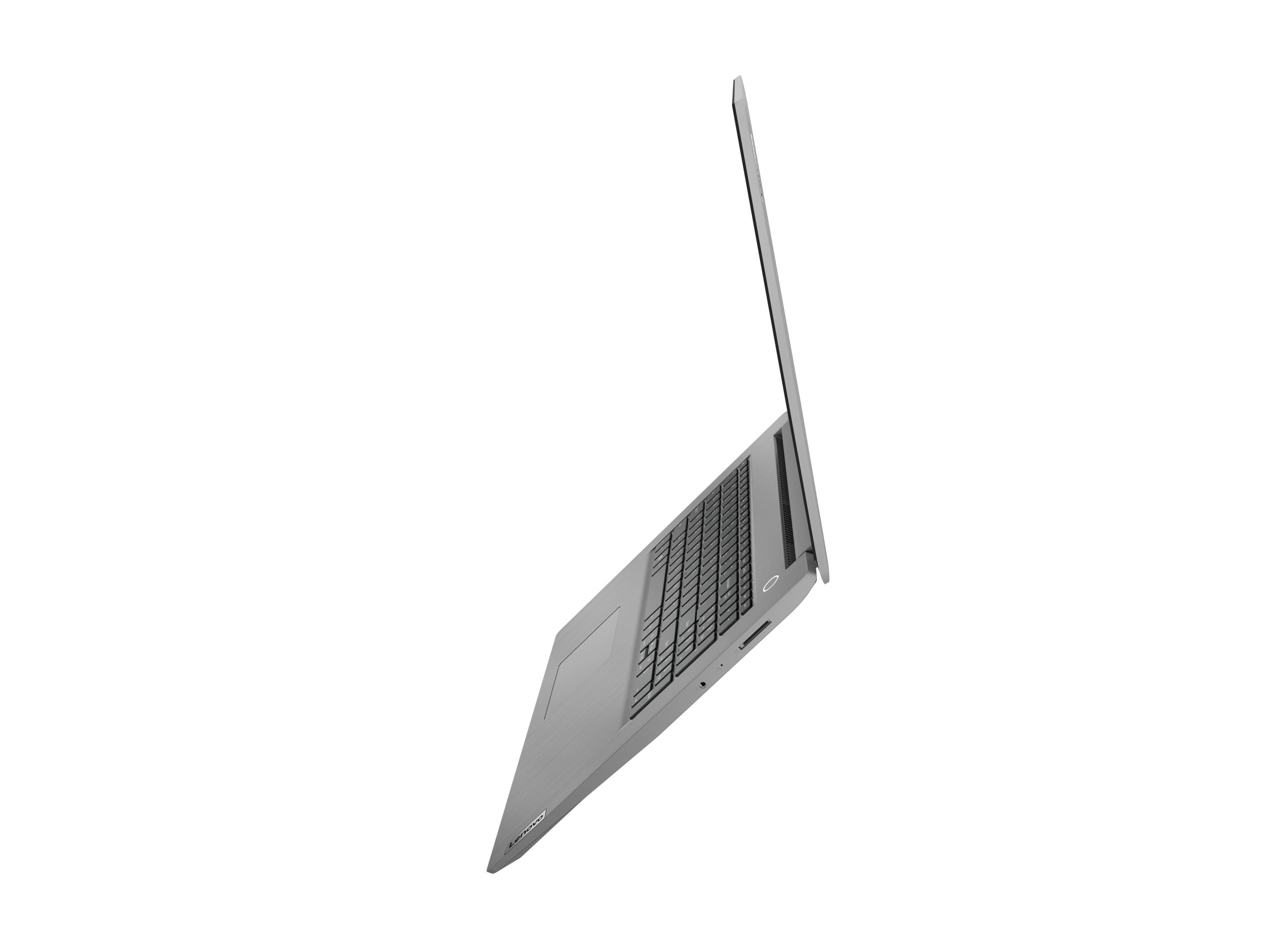 Фото  Ноутбук Lenovo ideapad 3i 17IML05 Platinum Grey (81WC009LRE)