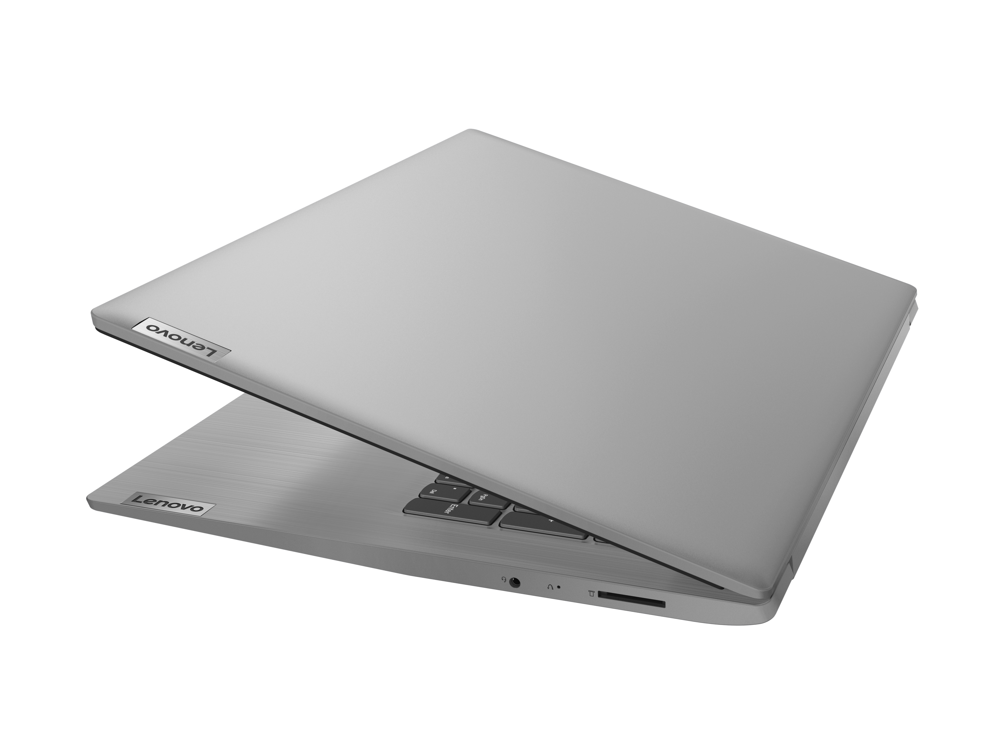 Фото  Ноутбук Lenovo ideapad 3i 17IML05 Platinum Grey (81WC009MRE)