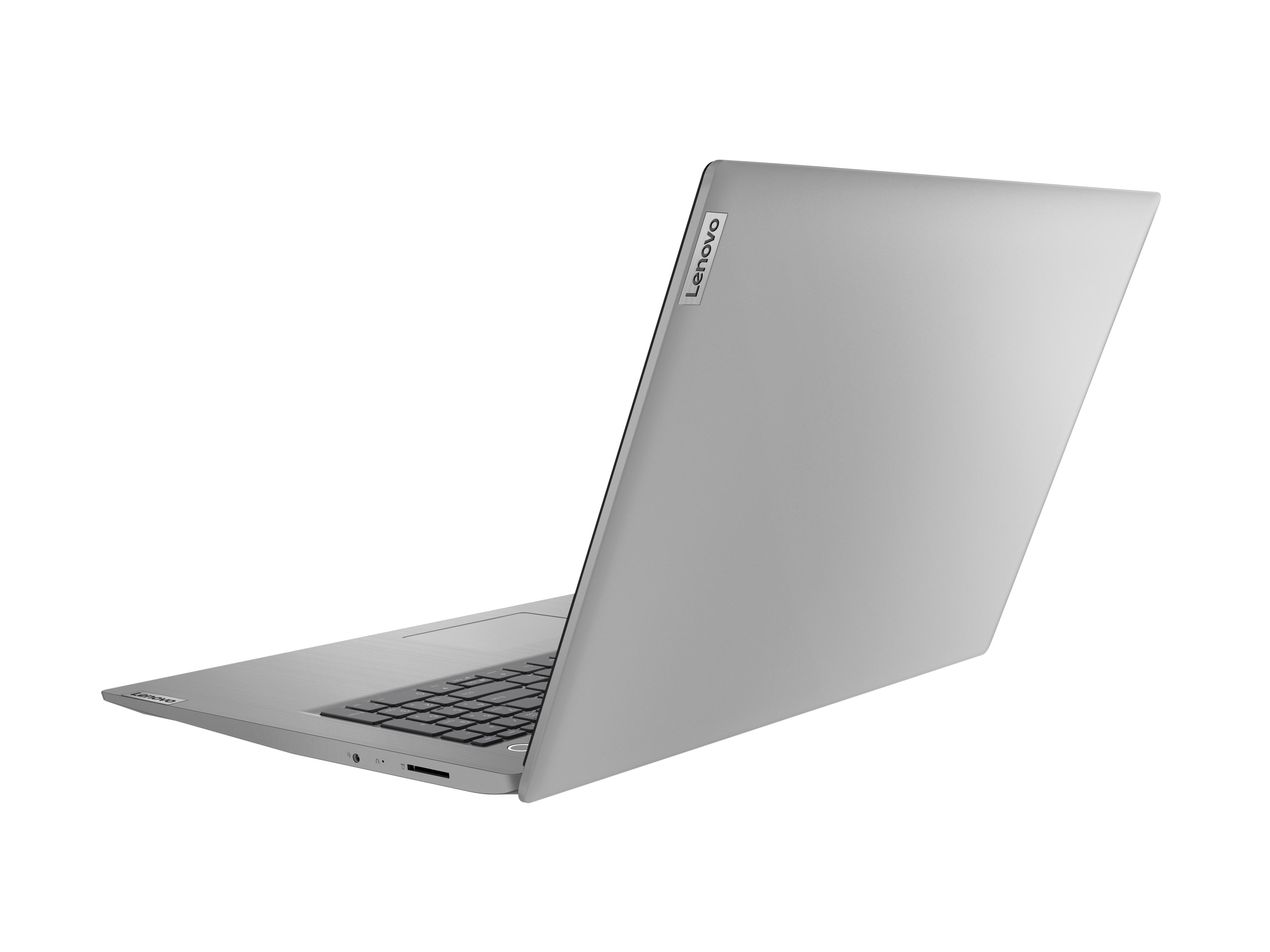 Фото  Ноутбук Lenovo ideapad 3i 17IML05 Platinum Grey (81WC003CRE)