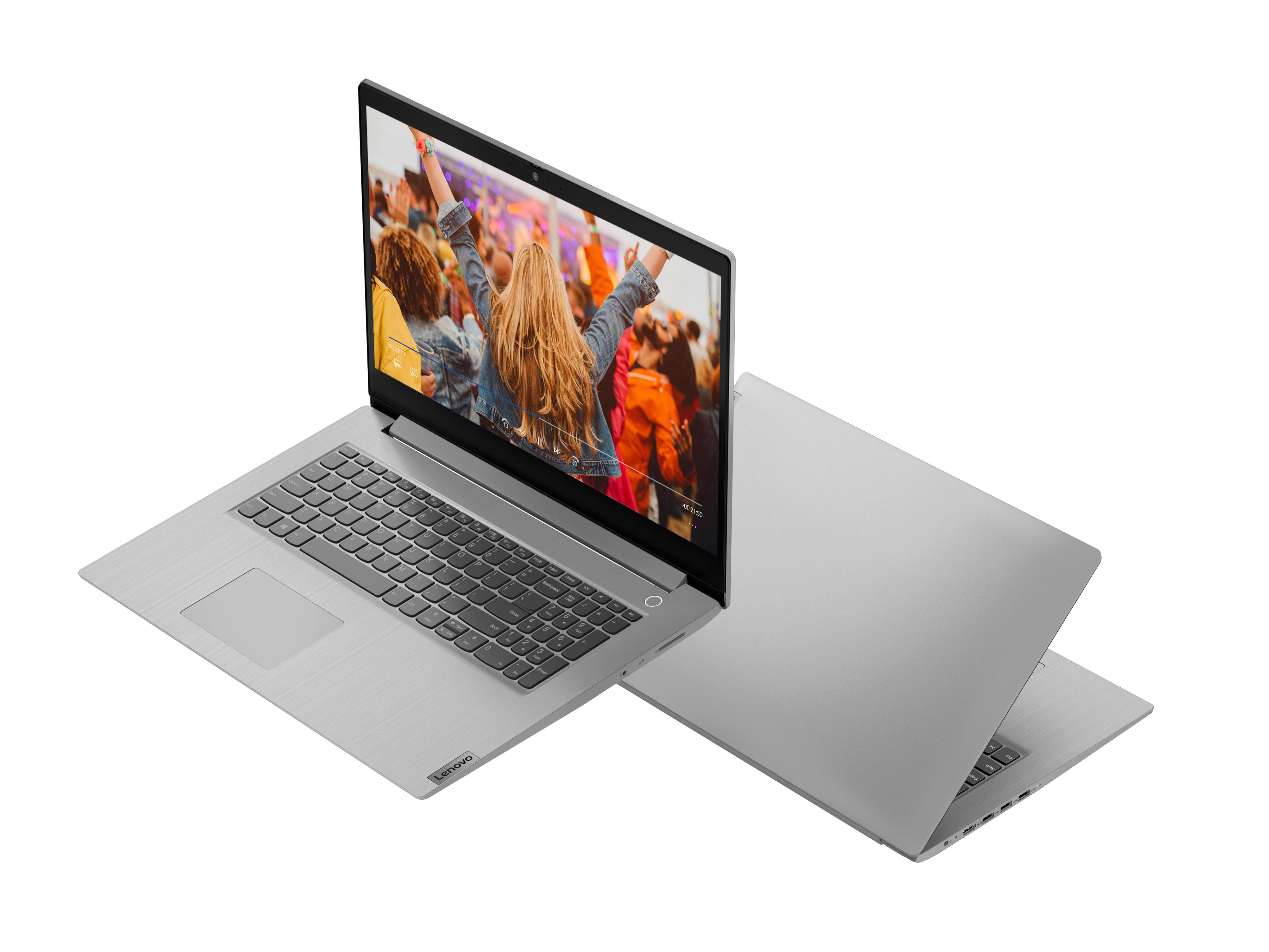 Фото  Ноутбук Lenovo ideapad 3 17ADA05 Platinum Grey (81W20046RE)