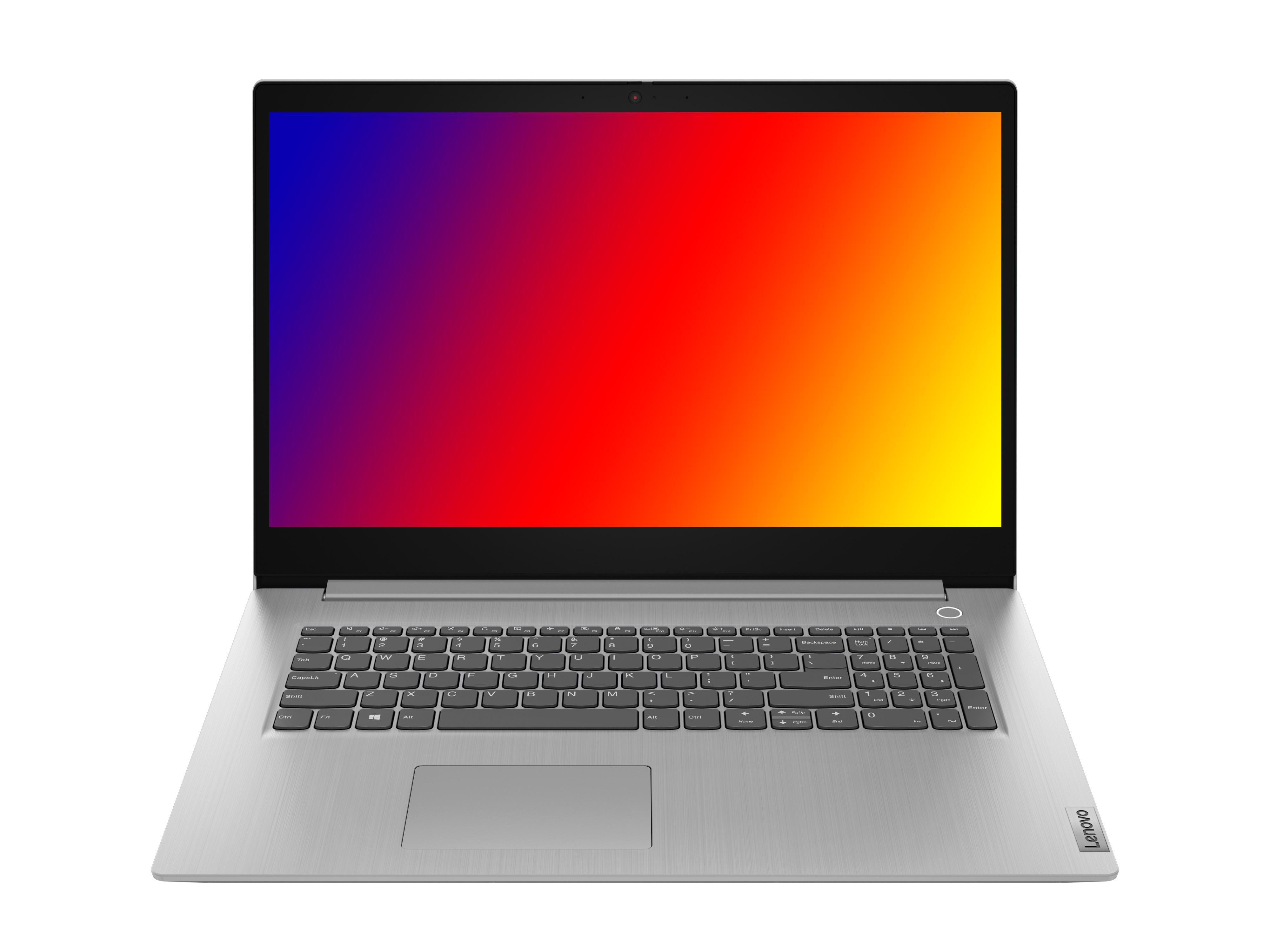 Фото  Ноутбук Lenovo ideapad 3 17ADA05 Platinum Grey (81W20021RE)