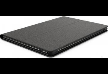 Фото 1 Чехол Lenovo Tab M10 HD Folio Case Черный + защитная пленка (ZG38C02761)