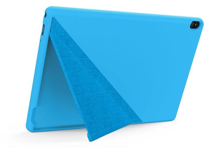 Фото  Защитный набор Tab M10 HD Bumper Blue + защитная пленка (ZG38C02778)
