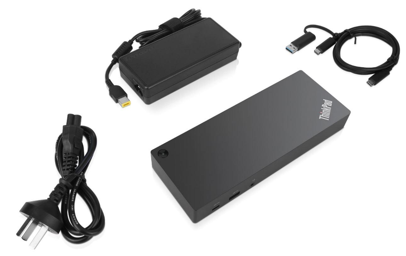 Фото  Док-станция Lenovo ThinkPad Basic Docking Station (40AF0135EU)