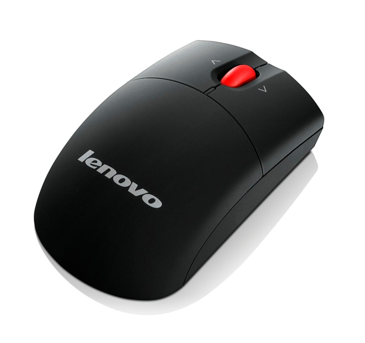 Фото  Мышь Lenovo Wireless Laser Mouse (0A36188)