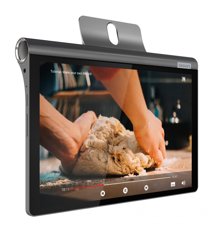 Фото  Планшет Yoga Smart Tab WiFi 3/32 Iron Grey (ZA3V0019UA)