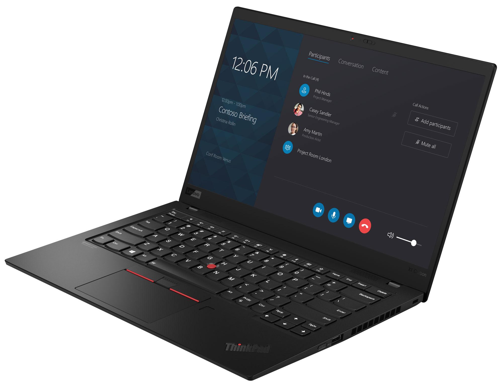 Фото  Ультрабук ThinkPad X1 Carbon 7th Gen (20QD003JRT)