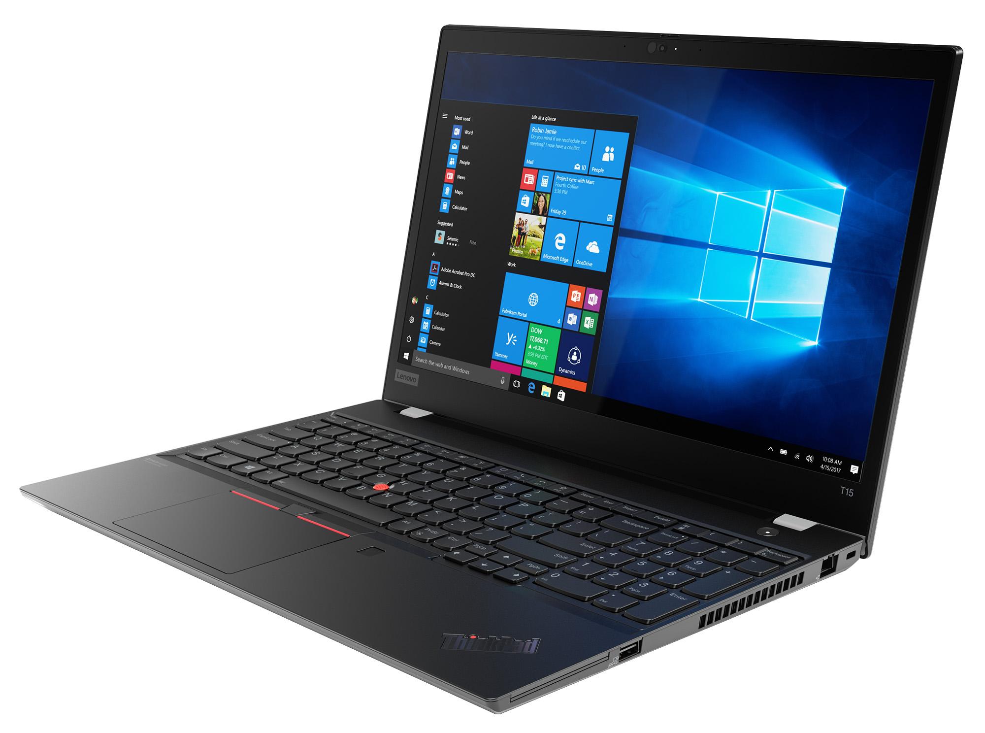Фото  Ноутбук ThinkPad T15 1st Gen (20S6002ERT)