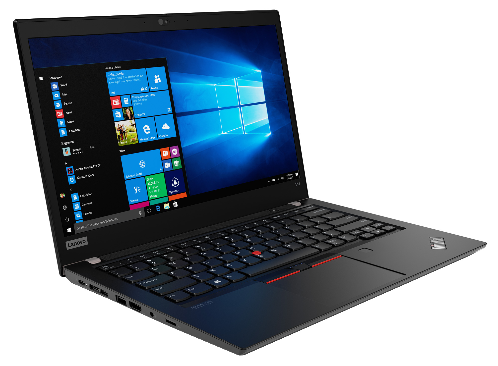 Фото  Ноутбук ThinkPad T14 1st Gen (20S00008RT)