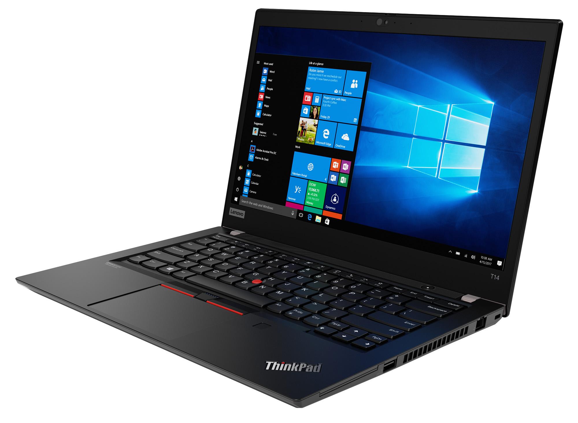 Фото  Ноутбук ThinkPad T14 1st Gen (20S00004RT)