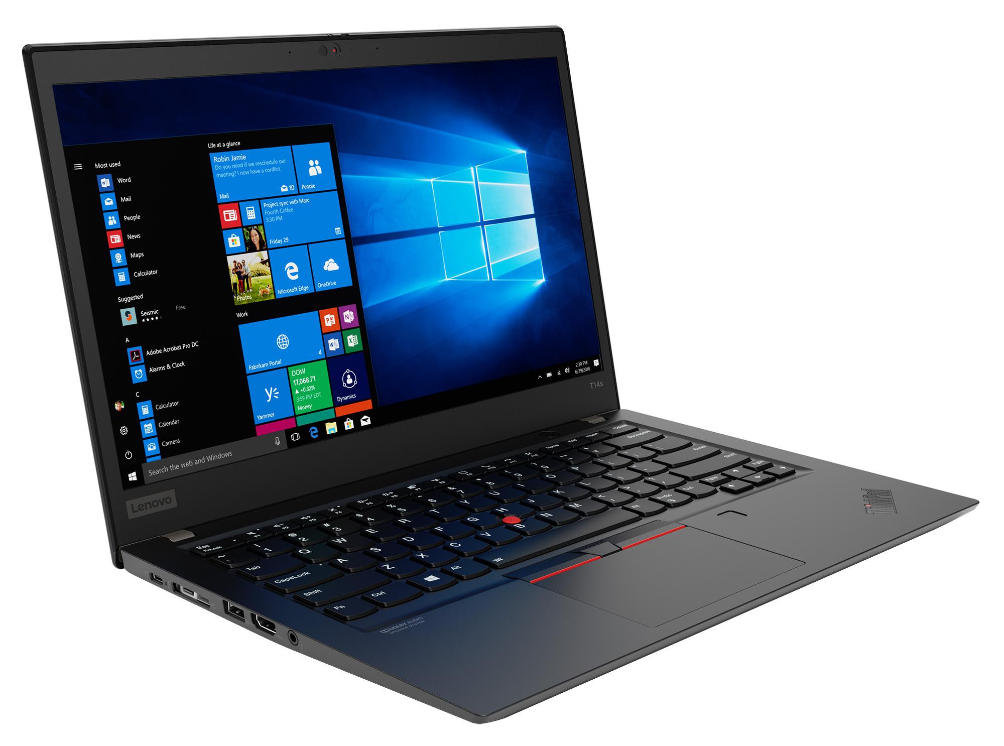Фото  Ноутбук ThinkPad T14s 1st Gen (20T0001DRT)
